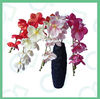 artificial flower PU material real touch single branch orchids
