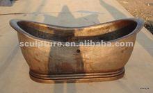 Copper Bathtub for hotel&home/popular salable bathtub