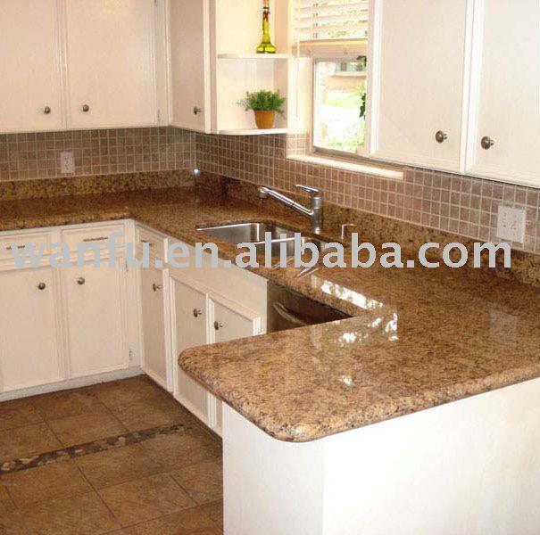 F sil de la cocina de granito encimera de piedra encimeras for Piedra granito para cocina precios