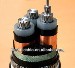 Voltages up to 35kv PVC/XLPE Power Cable