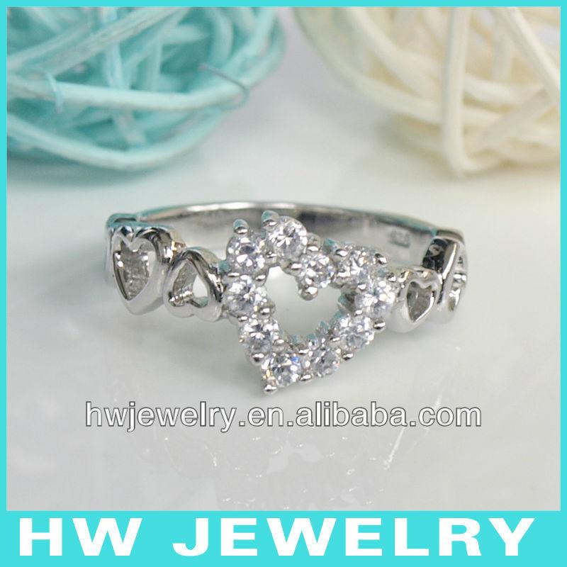 Plata anillos baratos