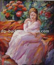 portrait oil painting /women oil painting / people oil paintings