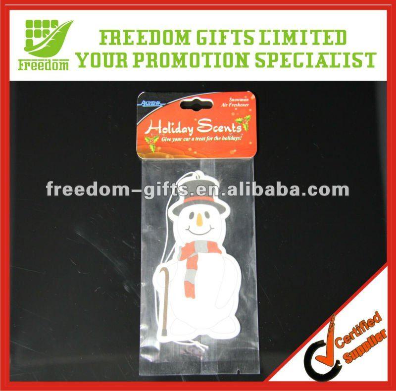 Christmas Car Air Paper Freshener