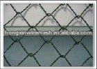 Chain link fence mesh for playground