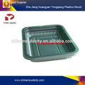 Bandeja de plástico do molde de injeção plástica, máquinas injetoras de plástico