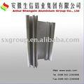perfil de aluminio para el lado de las ventanas de apertura