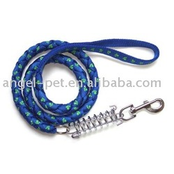 dog leash spring braided leash