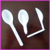 hot sale 12.5CM Plastic folding yogurt spoons