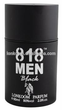 black garrafa cheiro agradável perfume dos homens perfume de 818