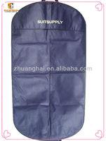 holland dark blue color nonwoven storage men's printed suit garment bags