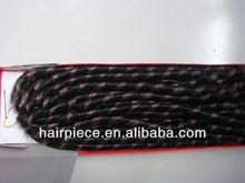 Cheap synthetic braid hair extension, Premium X-pression ultra braid hair extension, Soft dreadlock for hair extension
