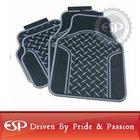#41110 Black Road Racer Latex PVC universal fit car floor mat