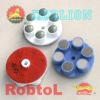 3'' 4'' dry Diamond Grinding and Polishing Pads for Concrete Floor Resin floor grinding pad 6 dots--CORB
