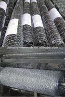 Galvanied Hexagonal wire mesh/Polyester spandex hexagon mesh