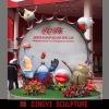 2010 Expo custom theme park GRP cartoon sculpture