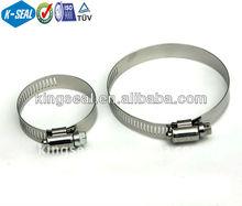 Aço inoxidável tipo americano Worm unidade clips mangueira de combustível KB116