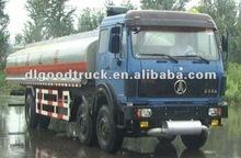 Baotou Beiben fuel truck 28cbm 260HP Fuel Diesel Tanker Truck For Sales