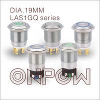 ONPOW waterproof push button switch(LAS1-GQ,19mm,IP65,IP67,CE,ROHS,REECH)