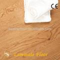U 12.3mm superficie handscraped pisos de madera laminados