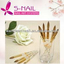 2014 new product nail art brush Kolinsky nail brush