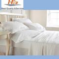 Super 100% más barato de algodón/polycotton blanco hoja de cama
