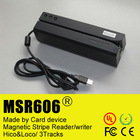 MSR606 Usb 3 Tracks Swipe Card Reader Writer Encoder upgrade from msr206
