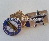 customized metal badge as per your design or logo