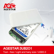 "AGE STAR 3UB2O1 2.5""hdd box USB3.0 External HDD Enclosurehard disk case hard disk cartridge"
