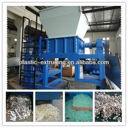 Plastic recycling machinery/hard plastic recycling machine/waste plastic recycling