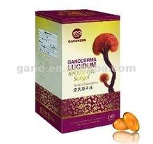 Pure Organic Ganoderma Lucidum Spore Oil softgel