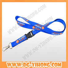 corporate giveaways silkscreen printing nylon lanyard