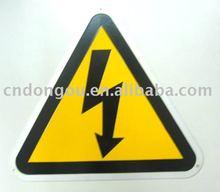 arrow pvc sign