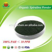 Manufacturer supply Organic spirulina powder