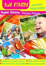 high glossy inkjet photo paper