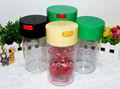 2014 kunststoff luftdichte lagerung kann/kunststoff lagerbehälter/verschließbaren/Topf/Glas