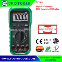 Mastech MY65 4 1/2 Digital Multimeters DMM 1999 counts 1000V