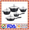 10pcs die-cast aluminum cookware set