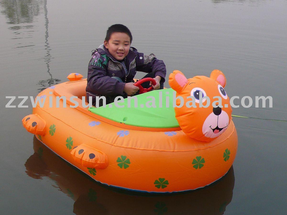 Cartoon Boats on Water Water Boat Bear Cartoon