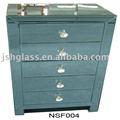 nsf004 5 çekmece aynalı dolap aynalı mobilya yansıtılmış başucu göğüs yansıtılmış mobilya yatak odası 5 çekmece dolap aynalı