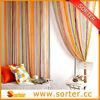 100% polyster fringe curtain for living room