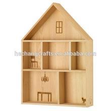 wooden house box,shadow box wall art