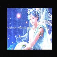 constellation theme 3D lenticular card