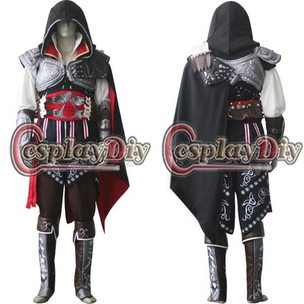 Custom Made Cosplay Costume Assassins Creed Ii Ezio ...