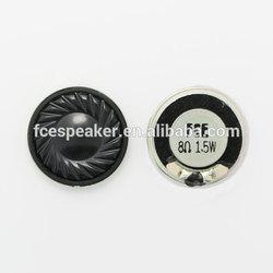 28mm 8 ohm 1.5w speaker parts with mylar cone