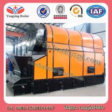 Horizontal Automatic chain grate coal/wood/biomass fired steam boiler