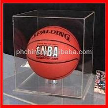 YKL-096 POP Clear Acrylic Basketball Display Box/Acrylic Display Stand/Acrylic