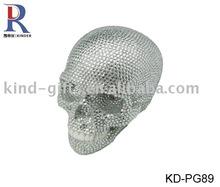 2013 new arrival bling rhinestone gifts resin skull