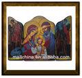 fatto a mano statue religiose icona ortodossa