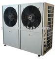 Aire sistema de calefacción, Bomba de calor de aire de extremo a extremo de agua