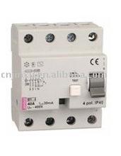 4P Residual Current Circuit Breaker